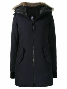 Canada Goose long sleeve zipped coat - Blue