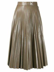 Jovonna Forrest pleated skirt - Grey