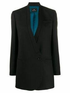 PS Paul Smith longline single breasted blazer - Black