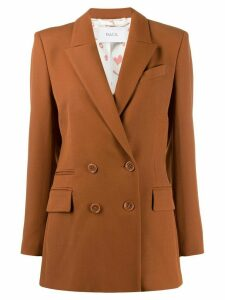Racil double breasted blazer - Brown