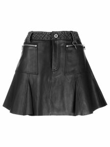 Diesel flared pleated skirt - Black