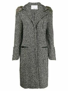 20:52 Chanel Inspired coat - Black
