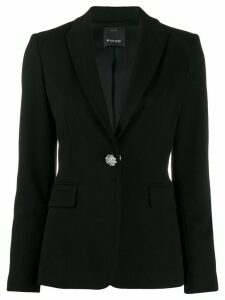 Pinko single-breasted fitted blazer - Black