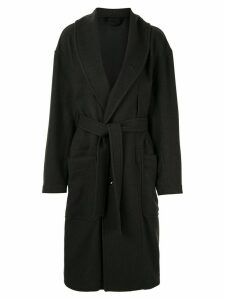 Lemaire single-breasted kaftan coat - Grey