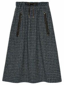 Gucci Square G midi skirt - Blue