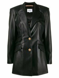 Nanushka long sleeve fitted blazer - Black