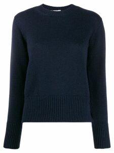 Zanone slim fit jumper - Blue