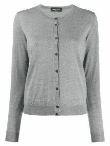Roberto Collina slim fit cardigan - Grey