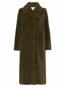 Stand Studio Gilberte teddy maxi coat - Green