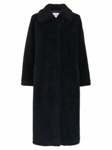 Stand Studio Gilberte teddy maxi coat - Blue