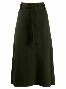 Vince high rise midi skirt - Green