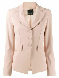Pinko fitted single-breasted blazer - NEUTRALS