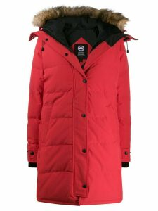 Canada Goose long sleeve padded coat - Red