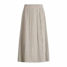 Joseph Charlie Pied De Poule Skirt