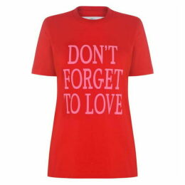 Alberta Ferretti Dont Forget To Love T Shirt
