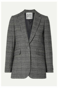 Alex Mill - Ryder Prince Of Wales Checked Woven Blazer - Black
