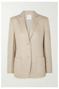Agnona - Wool And Cashmere-blend Blazer - Beige