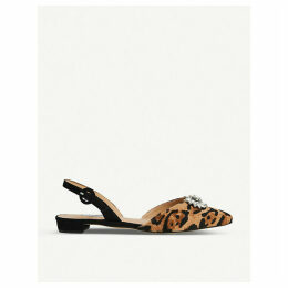 Licy leather flats