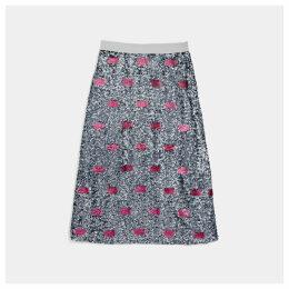 Coach Embellished Skirt