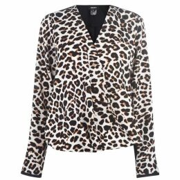 DKNY DKNY Leopard Shirt - Black