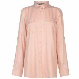Kangol Military Long Sleeve Shirt Ladies - Pink