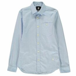 G Star Core Long Sleeve Shirt - ash blue