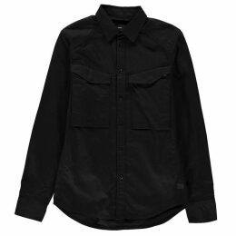 G Star Vodan Straight Shirt - Black