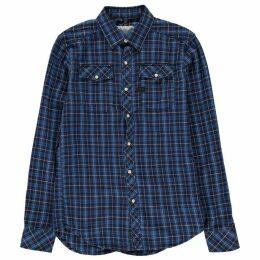 G Star Landoh Long Sleeve Shirt - medium aged che