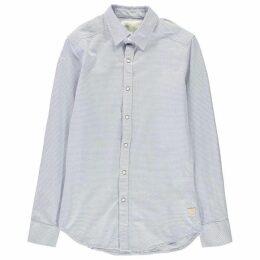 G Star Landoh Clean Long Sleeve Shirt - aircraft/white