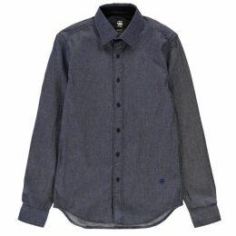 G Star Core Denim Long Sleeve Shirt - raw denim