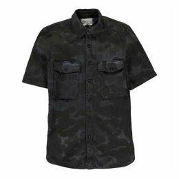 G Star Type C Straight Long Shirt - imp blue/maz bl