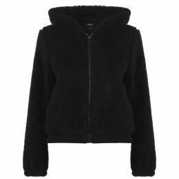 Only Anna Sherpa Jacket - Black