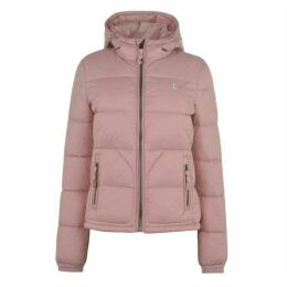 Jack Wills Piper Hooded Padded Jacket - Pink