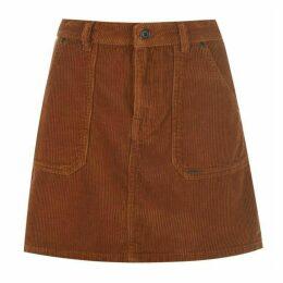 Superdry Corduroy Skirt - Brown
