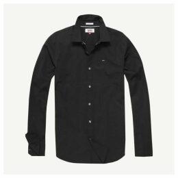 Tommy Jeans Original Stretch Shirt - Black