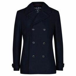 Jack Wills Bickmoor Peacoat - Navy