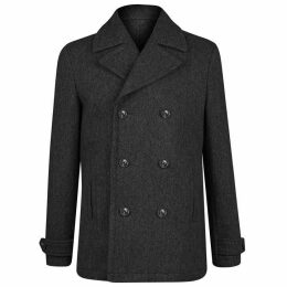 Jack Wills Bickmoor Peacoat - Charcoal