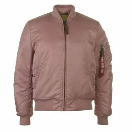 Alpha Industries MA1 VF 59 Bomber Jacket - Silver Pink
