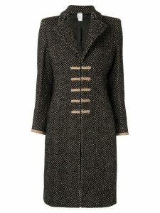 Versace Pre-Owned Napoleon coat - Brown