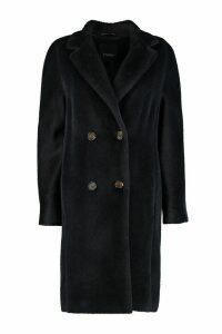 S Max Mara Rose Double-breasted Coat