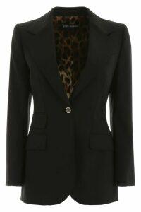 Dolce & Gabbana Single-breasted Wool Blazer