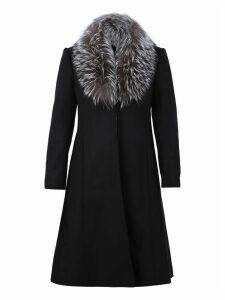 Alice + Olivia Virgin Wool Blend Coat