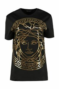 Versace Printed Cotton T-shirt