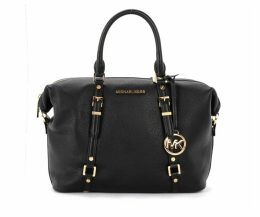 Handbag Michael Ko Model Satchel Bedford Legacy In Black Hammered Leather