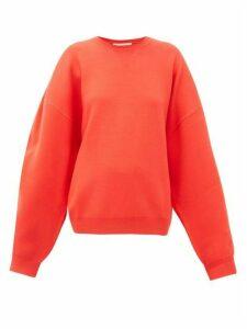 Roksanda - Karuo Dropped-sleeve Sweatshirt - Womens - Red