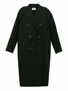 Acne Studios - Odethe Double-breasted Wool Coat - Womens - Black