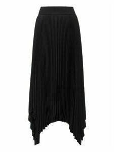 Joseph - Ade Plissé Crepe Skirt - Womens - Black
