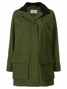 Holland & Holland hooded military coat - Green