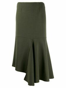 Marni godet bottom jersey skirt - Green