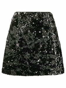 Michael Michael Kors sequin embellished skirt - Black